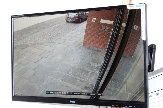 system for commercial security