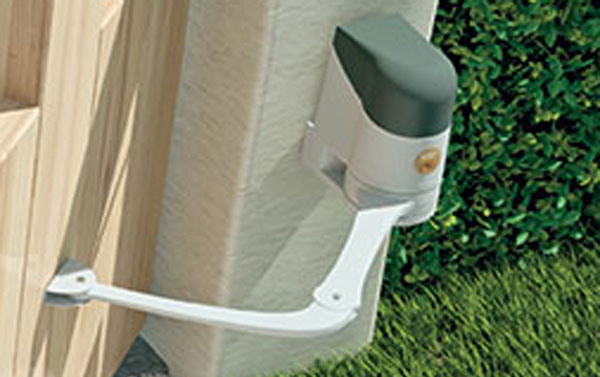 Articulated Security Gate Opener