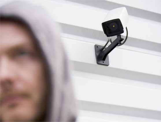 CCTV Wall Mounted